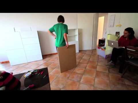The 4-hour Ikea Besta Assembly