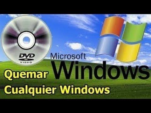 Como Quemar una imagen .ISO de Windows en un DVD con Programas