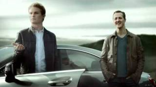 'Decision' - New Mercedes TV spot with Nico Rosberg, Michael Schumacher and pregnant woman