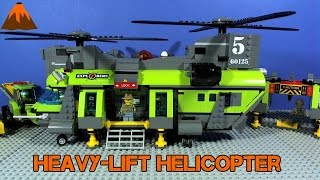 LEGO Volcano Explorers Heavy Lift Helicopter