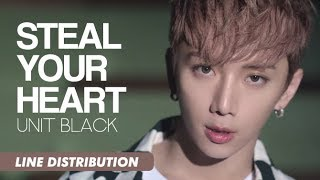 Unit Black (유닛블랙) - Steal Your Heart (뺏겠어) | Line Distribution