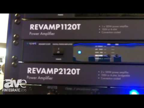 Integrate 2016: Apart Features Range of Power Amplifiers on the Amber Technology Stand