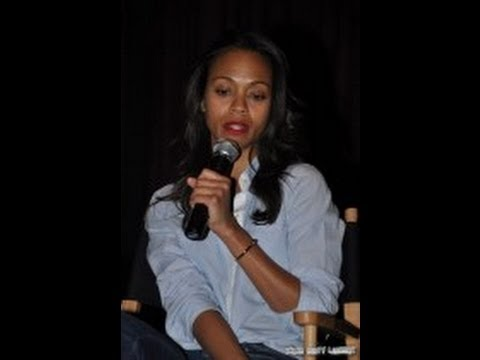 Zoe Saldana Q & A - Zoe Talks Star Trek, the meaning of success & more...