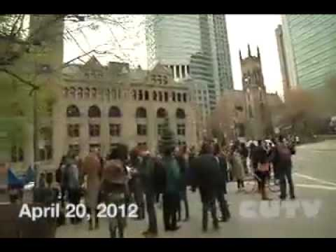 CUTVnews - Protest against Jason Kenny and Bill-C31 Live Recording April 20 2012