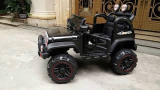 Xe ô tô điện trẻ em địa hình HP002 (màu đen)   WWW.BONGKIDS.COM