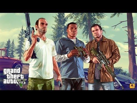 Grand Theft Auto V - Finais Alternativos (Opções A e B) GTA 5