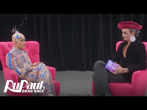 The Pit Stop w/ Raja & Ongina | RuPaul's Drag Race (Season 9 Ep 11) | Now on VH1