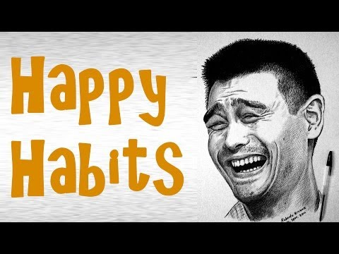 Habits of happy people a new article on vkool com teaches readers