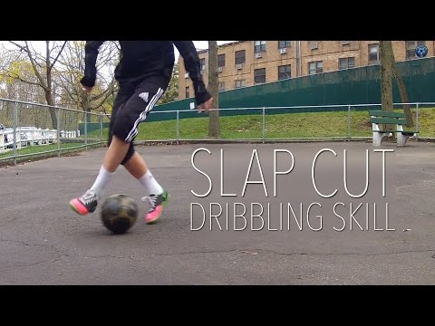 Slap Cut Dribbling Skill To PASS DEFENDERS | Soccer Ground Move / Skill Tutorial