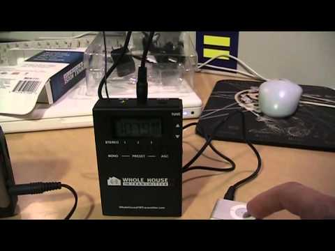 Whole House FM Transmitter 2.0 review & test