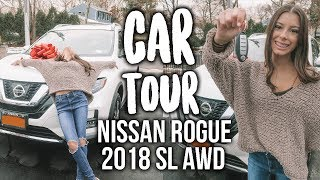 CAR TOUR!! Nissan Rogue 2018 SL AWD