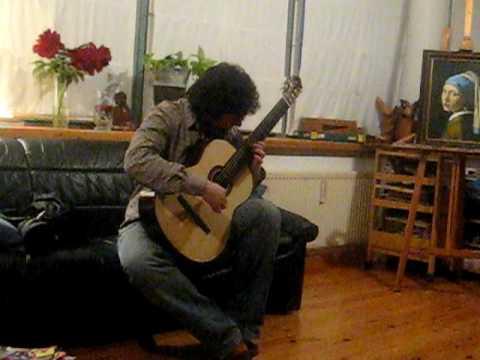Antonio Mascolo-Classical Guitar (Homage to Jarrett excerpt )