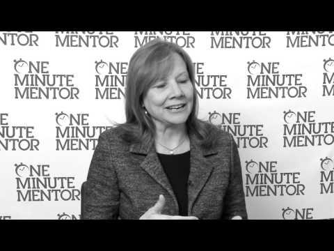 Hearst One Minute Mentor: Mary Barra on Fear