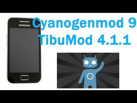 ROM CM9 TibuMod 4.1.1 para el Samsung Galaxy Ace - TheVigoFlax