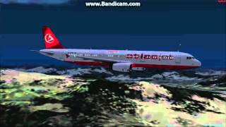 Atlasjet Aİ traffic landing