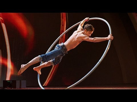 Billy George circus acrobat - Britain's Got Talent 2012 Live Semi Final - UK version