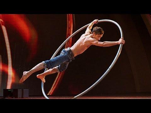 Billy George circus acrobat - Britain's Got Talent