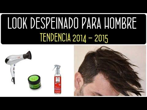 Peinado para hombre 2015 c mo hacer un look despeinado en - Como hacer peinados hombre ...