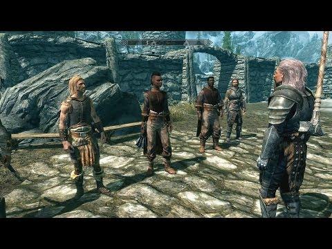 Let's Play Skyrim - Helgen Reborn Mod [Deutsch/German] #465: Die 6 Rekruten