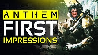 Anthem is FINALLY OUT - Livestream FIRST IMPRESSIONS, Open World & Story Gameplay!