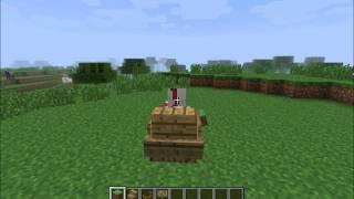minecraft funkční křeslo/židle