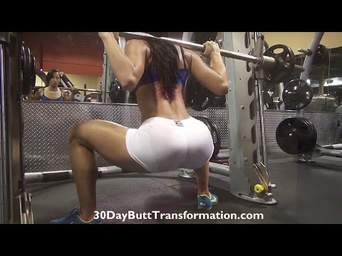 Girls Awesome BUTT Transformation!! Vicky Justiz