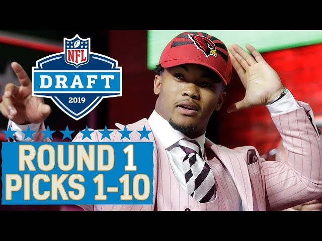 Picks 1-10 Multiple QBs, a Top 10 Trade amp More!  2019 NFL Draft