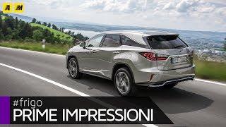 Lexus RX L   Il maxi SUV giapponese diventa 7 posti