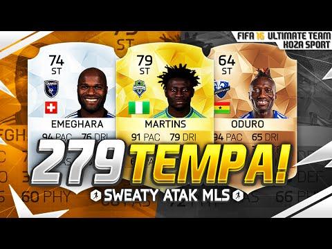 FIFA 16 - 279 TEMPA NA ATAKU! SWEATY ATAK MLS!
