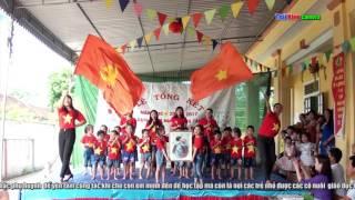 Như có Bác Hồ trong ngày vui đại thắng - trường mầm non Tân Phú Tân Kỳ Nghệ An