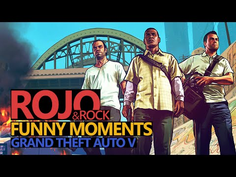 Funny Moments #57: GTA V Online (PS4) ROCK & ROJO (Rojo & Urhara)