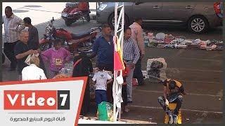 بالفيديو.. رواج حركة البيع والشراء داخل جراج الترجمان