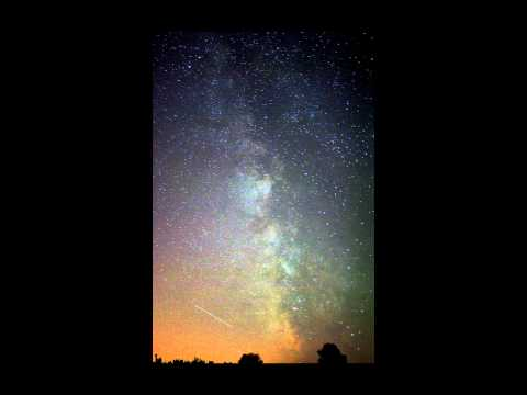 Milky Way with International Space Station
