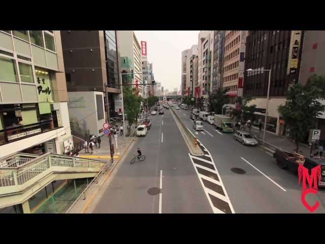 Michael Chacon: Mikeonabike in Japan.