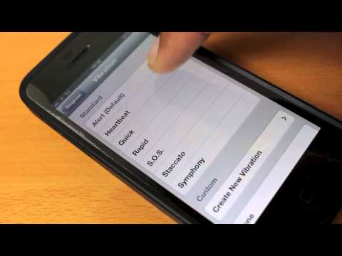 How to change your iPhone 5 ringtone and vibration