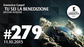 Domenica Gospel @ Milano | Tu sei la benedizione - Pastore Roselen | 11.10.2015