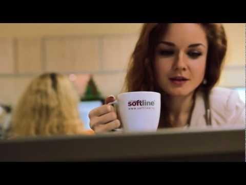 Новогодний корпоративный ролик для компании «Softline»