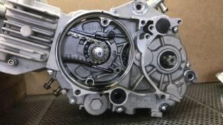 yx 184cc engine teardown Pitbike Restoration