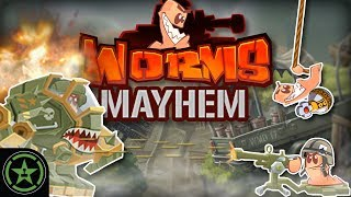 NO SCOPE BUNKER BUST - Worms W.M.D. - Worms MAYhem | Let's Play