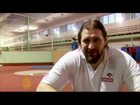 Poland's shot put giant - Sportsworld - 5 March 09 Video