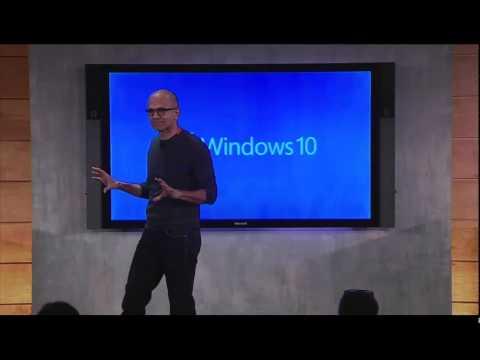 Signum News - Preview Windows 10 - Discurso Satya Nadella