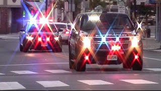 Police Cars Fire Trucks And Ambulance Responding Compilation Part 5