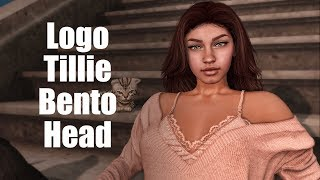 Logo Tillie Bento Mesh Head in Second Life