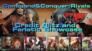 C&C Rivals Credit Blitz and Fanatic Showcase