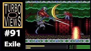 """Exile"" - Turbo Views #91 (TurboGrafx-16 / Duo game REVIEW!)"