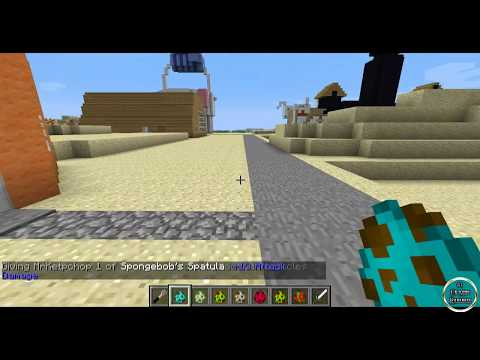 Minecraft - Review de SPONGEBOB MOD - ESPAÑOL TUTORIAL
