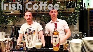 Как приготовить кофе по-Ирландски ?? Irish Coffee