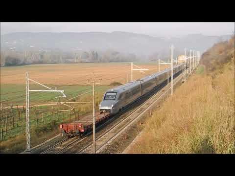 ETR700 in livrea Trenitalia (Ex V250 NS Fyra) Invio Napoli Firenze