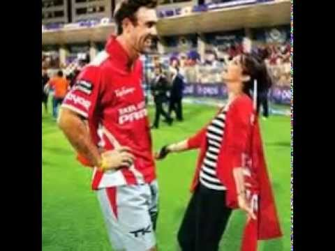 Preety Zinta Kissing Glen Maxwell video