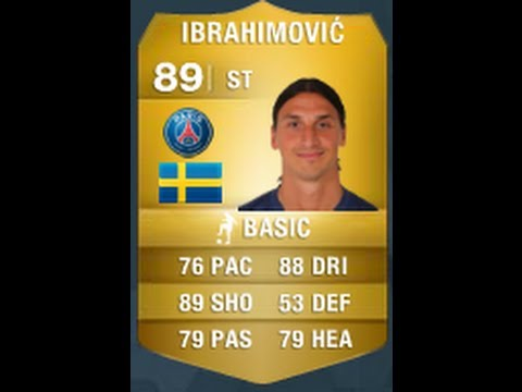 FIFA 14 IBRAHIMOVIC 89 Player Review & In Game Stats Ultimate Team